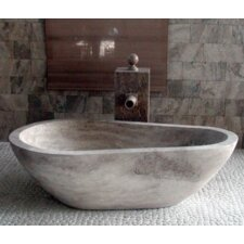 "Piedra 60"" x 37.5"" Soaking Bathtub"