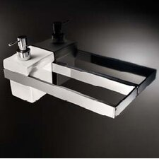 Skuara Toilet Rail/Bracket in Polished Chrome