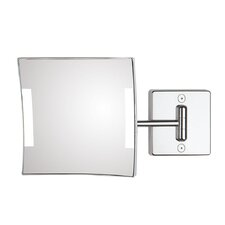 Quadrolo 1-Arm Cable and Plug LED Magnifying Mirror