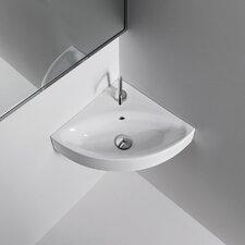 Kerasan Cento Wall Mounted / Vessel Bathroom Corner Sink