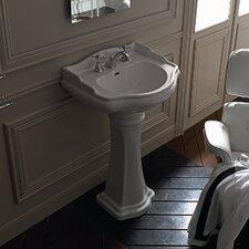 Kerasan Retro Free Standing Bathroom Pedestal Sink