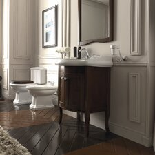 """Kerasan Retro 27"""" Single Console Bathroom Vanity Set"""