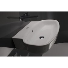 Ceramica Valdama Grace Wall Mounted Bathroom Sink
