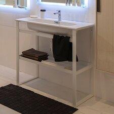 "Linea 35"" Single Free Standing Bathroom Vanity Set"