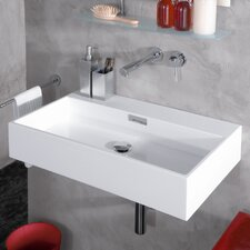 Modern Wall Mounted Vessel Bathroom Sink
