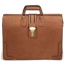 Classic Leather Laptop Briefcase