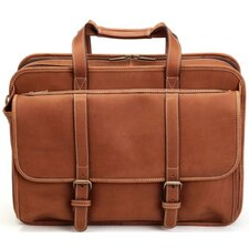 Adventure Leather Laptop Briefcase