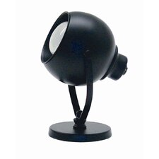 "Eyeball Spot Light 6"" H Table Lamp with Bowl Shade with Bowl Shade"