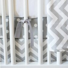 Zig Zag Baby 3 Piece Crib Bedding Set
