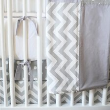 Zig Zag Baby 4 Piece Crib Bedding Set