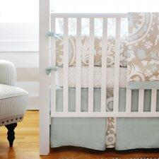 Picket Fence 2 Piece Crib Bedding Set