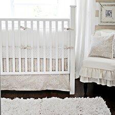 Pebble Moon 4 Piece Crib Bedding Set
