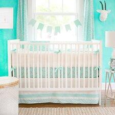Zebra Parade 3 Piece Crib Bedding Set