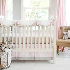 Cross My Heart 2 Piece Crib Bedding Set