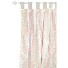 Cross My Heart Curtain Panels (Set of 2)