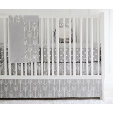 Wanderlust Arrow 2 Piece Crib Bedding Set