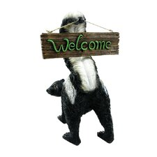 Welcome From Stinky Garden Sign