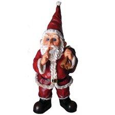 Garrold Santa with Gift Bag Resin Statue