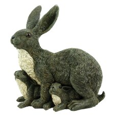 Mama Rabbit and Family Statue