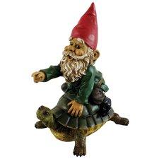 Garrold Gnome On Turtle Statue