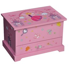 Kerri Girl's Musical Ballerina Jewelry Box