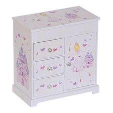 Adalyn Girl's Musical Ballerina Jewelry Box
