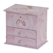 Casey Girl's Musical Ballerina Jewelry Box