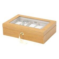 Glass Top Watch Box
