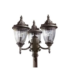 Galatea 3 Light 238cm Post Lantern Set