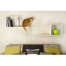 "The Sophia 14"" Wall Mounted Cat Tree (Set of 2)"