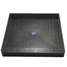 Single Curb Square Shower Base
