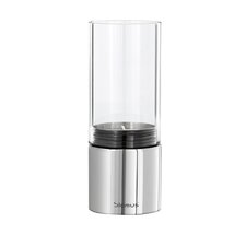 Faro Stainless Steel & Glass Hurricane