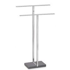 Menoto Freestanding Stainless Steel Matte Towel Stand