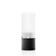 Faro Glass Candlestick