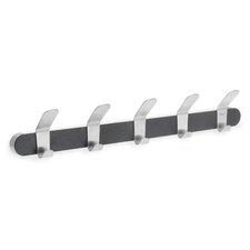 Venea 5 Hook Wall Mounted Coat Rack
