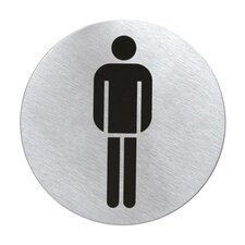 "Signo Door Plate ""Men's Room"""