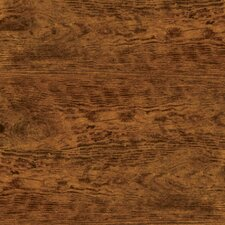 "Solidity 40 Handscraped 6"" x 36"" x 4.24mm Vinyl Plank in Aged Chestnut"