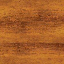 "Solidity 40 Handscraped 6"" x 36"" x 4.24mm Vinyl Plank in Aged Walnut"
