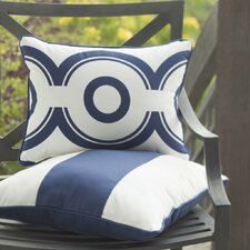 Wheels Cotton Lumbar Pillow