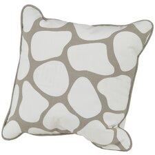 Cobblestone Cotton Throw Pillow