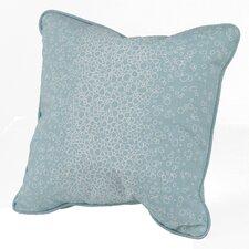 Raindrops Cotton Throw Pillow