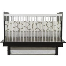 Cobblestone 3 Piece Crib Bedding Set