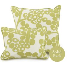 Modern Berries Cotton Throw Pillow