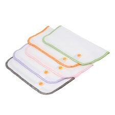 Organic Flannel Wash Cloth (Set of 5)