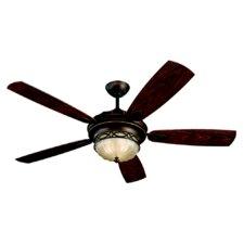 """56"""" Edwardian 5 Blade Ceiling Fan"""