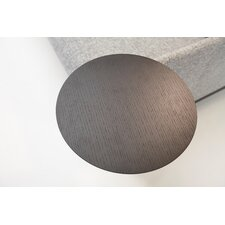 58 cm H  x 36 cm B Tischplatte Neat/Noir
