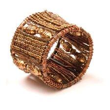 Taj Beaded Napkin Ring (Set of 4)