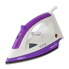 HomeLife 1200w 'Tidal X-15' Steam Iron in Purple