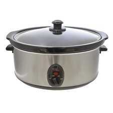 Kitchen Perfected 6.5L Stainless Steel Slow Cooker