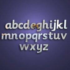 26-tlg Spiegelset Alphabet in Kleinbuchstaben A - Z